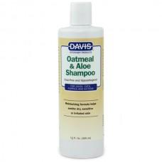 Davis (Дэвис) Oatmeal & Aloe Shampoo Овсяная мука с Алоэ гипоаллергенный шампунь для собак и котов 355 мл