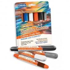 Davis (Дэвис) Essential Colors Основные Цвета красящие мелки для шерсти волос кожи 6 цветов