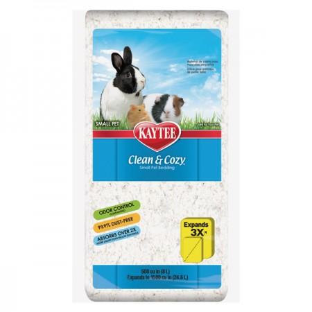 Kaytee (Кейти) Clean&Cozy White подстилка для грызунов целлюлоза белая 8 л