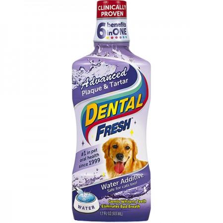 SynergyLabs (Синерджи Лабс) Dental Fresh Advanced жидкость от зубного налета и запаха из пасти собак и кошек