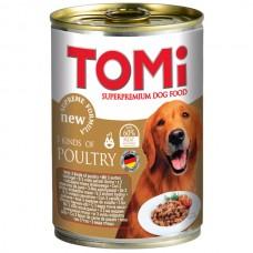TOMi (Томи) 3 kinds of poultry 3 вида птицы консервы корм для собак банка 400 г