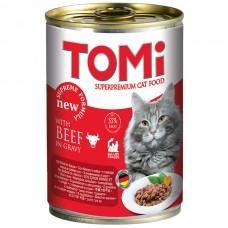 TOMi (Томи) Beef влажный корм для кошек Говядина 400 г