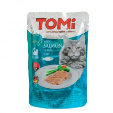 TOMi (Томи) Salmon in egg jelly влажный корм для кошек Лосось в яичном желе 100 г