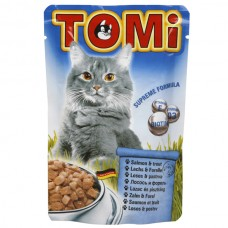 TOMi (Томи) Poultry in tomato jelly влажный корм для кошек Птица в томатном желе 100 г