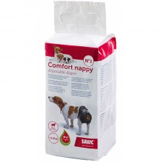 Savic (Савик) Comfort Nappy Комфорт Наппи памперсы для собак 34-50 см
