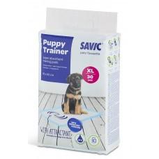 Savic (Савик) Puppy Trainer пеленки для собак XL 90х60 см 30 шт