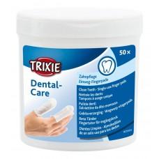 Подушечки для ухода за зубами одноразовые Trixie 29393