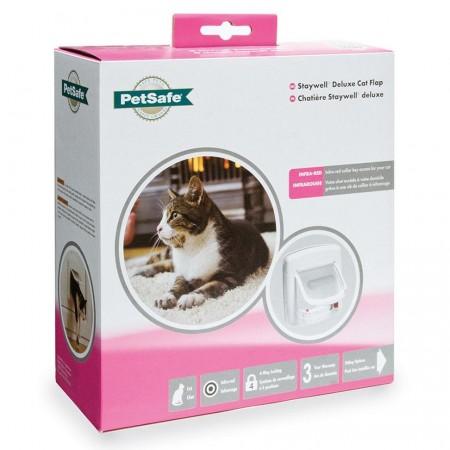 PetSafe Staywell Infra Red 4 Way Locking Deluxe Cat Flap Дверца для кошек с программным ключом