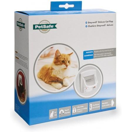PetSafe Staywell Magnetic 4 Way Locking Deluxe Cat Flap Дверца для кошек с магнитным ключом