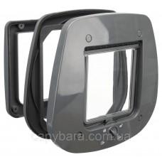 Trixie (Трикси) 4-Way Flap Door for Glass Дверца для кошек для стеклянных дверей пластик 27 × 26 см