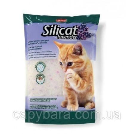 Padovan (Падован) Silicat Lavender Лаванда Наполнитель силикагелевый для туалетов для кошек 5 л