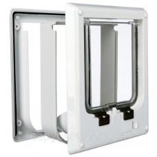 Trixie (Трикси) 4-Way Cat Flap electromagnetic Дверца для кошек электромагнитная 4 позиции 21.1 × 24.4 см