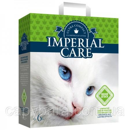 Imperial Care Odour Attack (10 кг) Империал Каре контроль запаха Летний Сад ультра комкующийся наполнитель