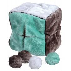 Trixie (Трикси) Cube with 4 Play Balls Мягкая игрушка для собак Куб с мячами