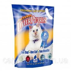 Litter Pearls ТРАКЛЕС (TrackLess) кварцевый наполнитель для туалетов котов 7,6 л