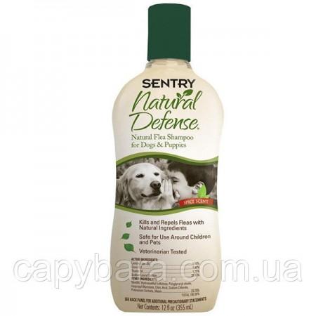 Sentry (Сентри) Natural Defense натуральная защита капли от блох и клещей для собак и щенков 355 мл