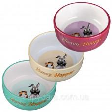 Trixie (Трикси) Honey & Hopper миска для кроликов и морских свинок 250 мл