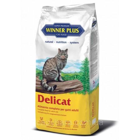 Winner Plus (Виннер Плюс) Delicat сухой корм для кошек 2 кг