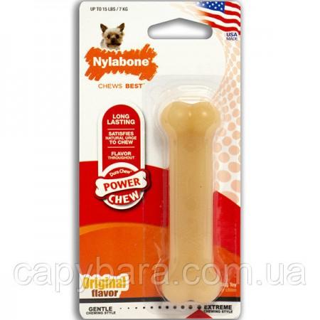 Nylabone (Нилабон) Dura Chew Petite жевательная игрушка для собак до 7 кг с мощным стилем грызения
