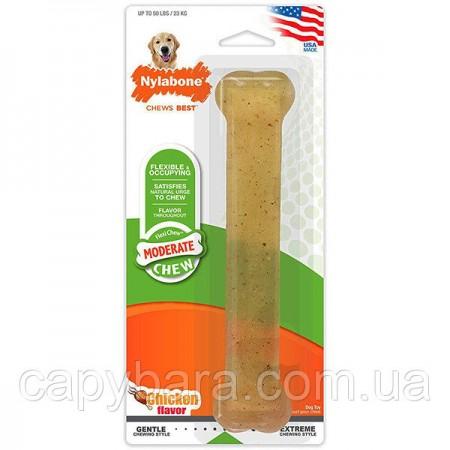 Nylabone (Нилабон) Flexi Chew Giant жевательная игрушка для собак до 23 кг с умеренным стилем грызения