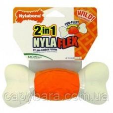 Nylabone (Нилабон) NylaFlex Weave Bone жевательная игрушка для собак до 23 кг с умеренным стилем грызения