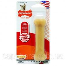 Nylabone (Нилабон) Dura Chew Regular жевательная игрушка кость для собак до 11 кг с мощным стилем грызения