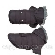 Karlie Flamingo (Карле Фламинго) Polar Black Полар одежда для собак куртка с капюшоном 30 см