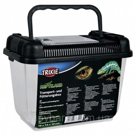 Trixie (Трикси) Transport and Feeding Box транспортировочный бокс для рептилий 19 × 14 × 12 см