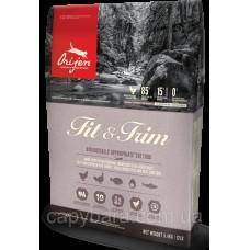 Orijen (Ориджен) Fit & Trim Cat корм для кошек с избыточным весом 1.8 кг
