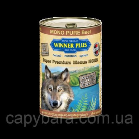 Winner Plus (Виннер Плюс) консервы для собак с говядиной 400 г