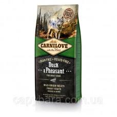 Carnilove (Карнилав) Adult Duck & Pheasant Корм для собак всех пород с уткой и фазаном 1.5 кг