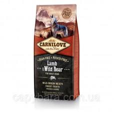 Carnilove (Карнилав) Adult Lamb & Wild Boar Корм для собак всех пород с ягненком и диким кабаном 12 кг