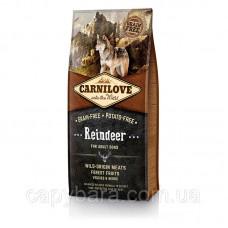 Carnilove (Карнилав) Adult Raindeer Корм для собак всех пород с мясом северного оленя 12 кг