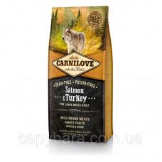 Carnilove (Карнилав) Adult Large Salmon & Turkey Корм для собак крупных пород с лососем и индейкой 12 кг