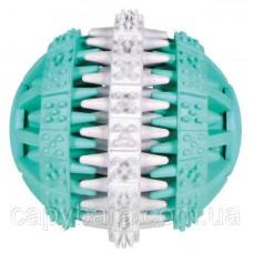 Trixie (Трикси) Denta Fun Ball Мяч игрушка для собак массажер для десен с мятным вкусом 6 см