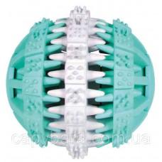 Trixie (Трикси) Denta Fun Ball Мяч игрушка для собак массажер для десен с мятным вкусом 7 см