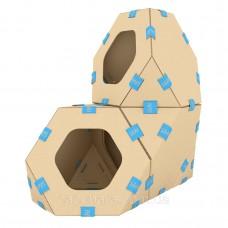 TelePet (ТелеПэт) Модульный домик для кошек (3 секции)