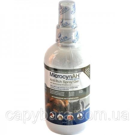 Microcyn (Микроцин) Anti-Itch Спрей-гель с диметиконом против зуда кожи для животных 240 мл