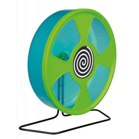 Trixie (Трикси) Беговое Колесо для дегу и хомяков тренажер пластик 28 см