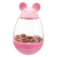 Trixie (Трикси) Snack Mice Мышь-неваляшка игрушка-кормушка для кошек 9 см
