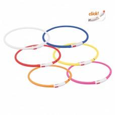 Trixie (Трикси) USB Flash Light Ring ошейник для собак светящийся 70 см / 10 мм