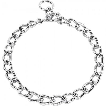 Sprenger (Спрингер) цепочка-ошейник для собак круглое звено хромированная сталь 5 мм 65 см