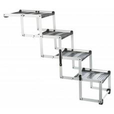 Trixie 4-step Folding Steps Пандус-ступеньки для собак до 75 кг, в авто, 39378