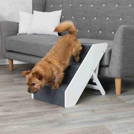 Trixie (Трикси) Steps Складной регулируемый пандус ступеньки для собак и кошек до 40 кг (40 × 67 см)